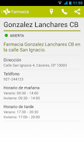 Farmacias de Cáceres screenshot 4