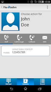 TheDialer screenshot 2