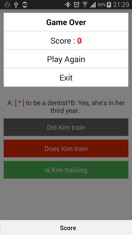 Quick Test English - Android Apps on Google Play