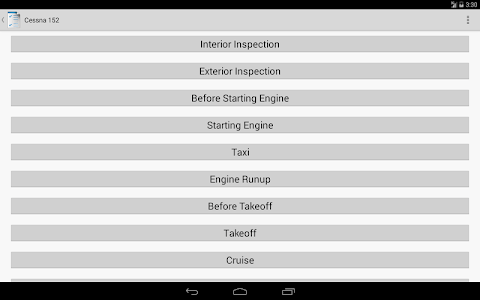 Aviation Checklists screenshot 8
