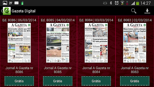 Gazeta Digital screenshot 1