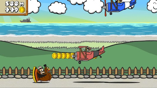 Dr. Gentleman's Jetpack Run screenshot 19