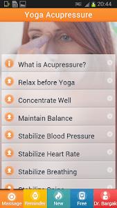 Effective Yoga - Acupressure. screenshot 5