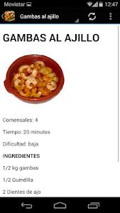 Recetas de cocina gratis screenshot 3