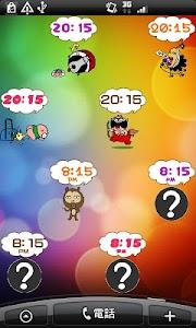 Daily Cartoon014 LWP & Clock screenshot 5
