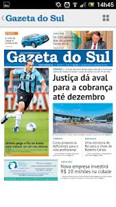 Gazeta do Sul screenshot 4