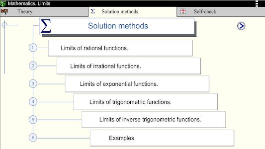 Math. Limits screenshot 9