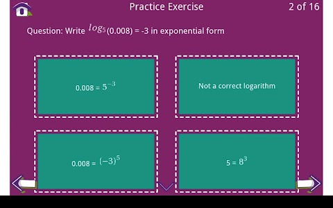 Grade 10 Math Learning Cards screenshot 4