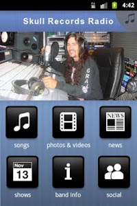 Skull Records Radio screenshot 1