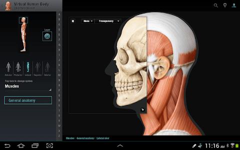 Virtual Human Body screenshot 6