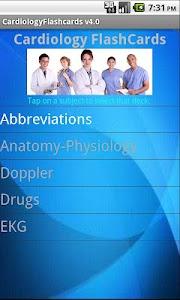 Cardiology Flashcards screenshot 1