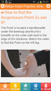 Relax NOW With Acupressure. screenshot 3