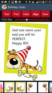 Birthday Cards screenshot 2