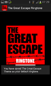 The Great Escape Ringtone screenshot 1