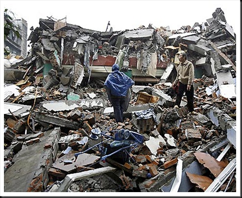 The massive earthquake in Sichuan province killed thousands, many of them children.