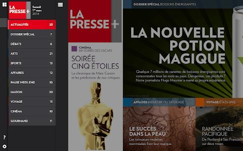 La Presse+ screenshot 2