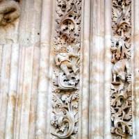 ¿Un astronauta en la catedral de Salamanca?