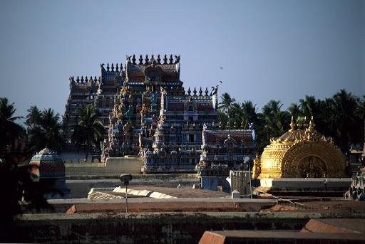 PraNavaakaara vimaanam and Gopurams