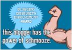 Selo The Power of Schmooze Award