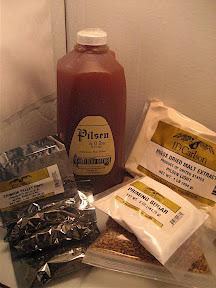 Chinook IPA Ingredient Kit