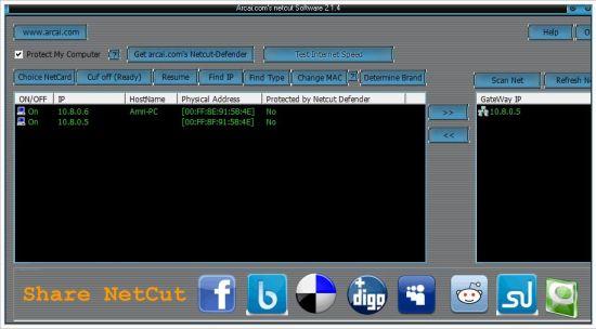 Free Download NetCut untuk Windows Terbaru
