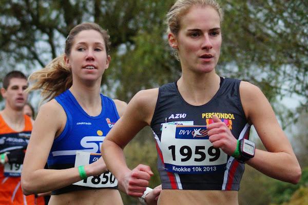Saskia Vens en Katrien De Vos - 16e Westlaanrun - Memorial Carlos Goethals