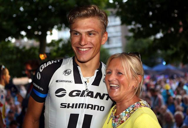 Ingrid Bouckenooghe bij Marcel Kittel