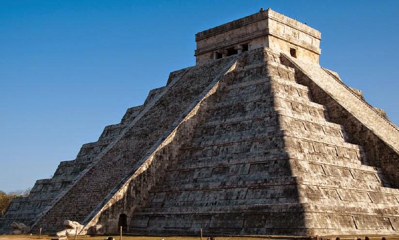 пирамида в Чичен–Ица