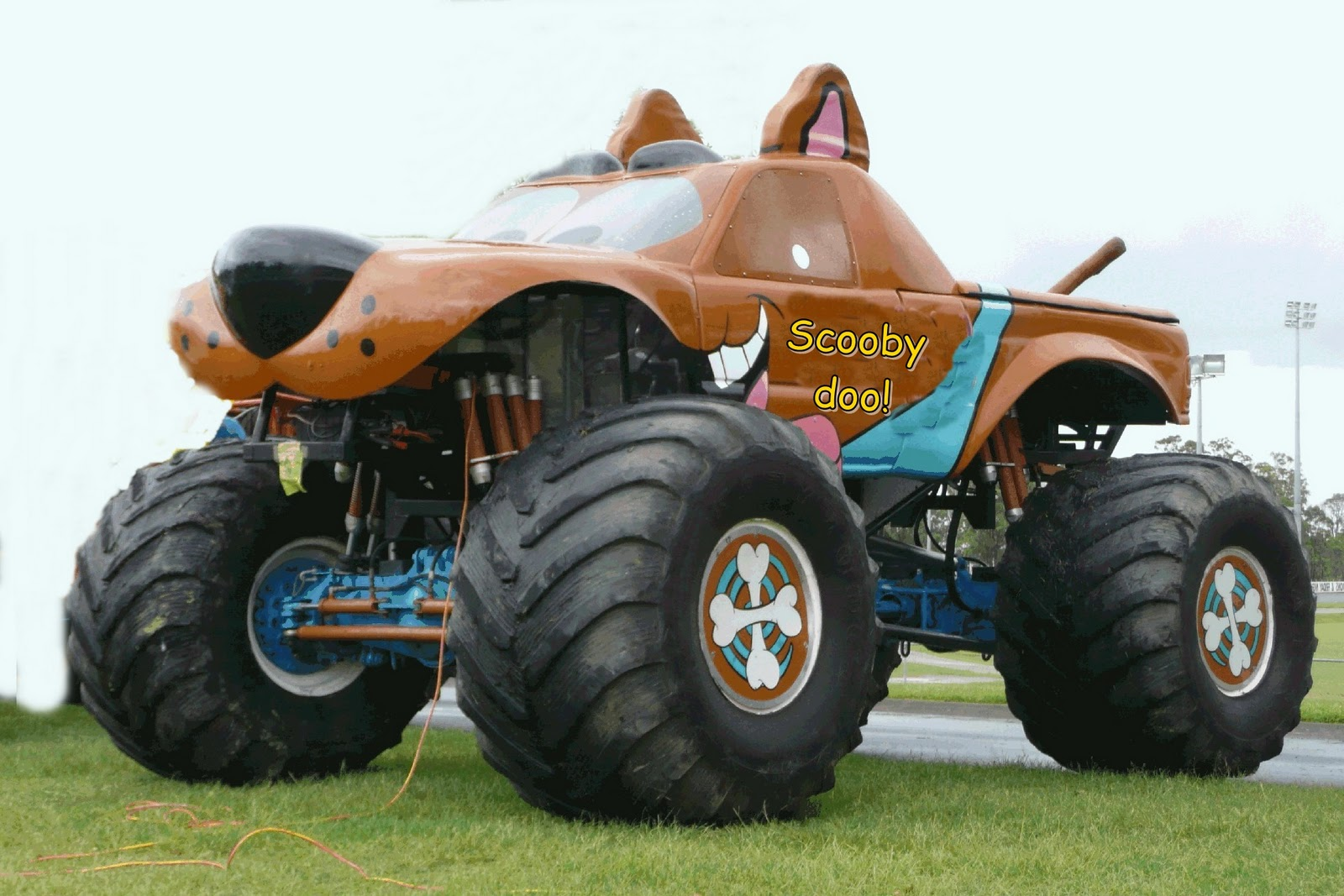 Witty Nity Latest Monster Truck Wallpapers E Mighty