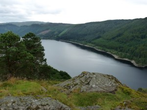 Thirlmere from the other cairn on Great How.