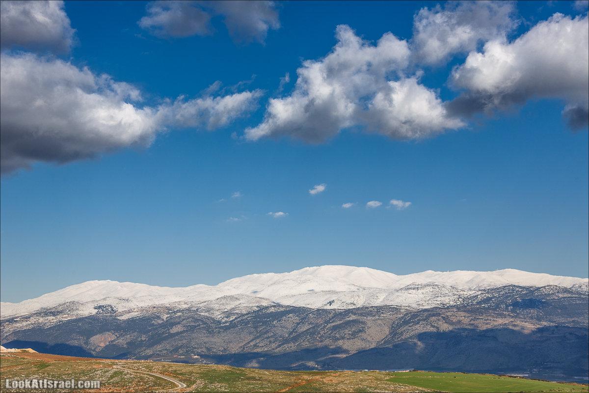 LookAtIsrael.com - Заснеженная вершина горы Хермон. Фото путешествия по Израилю и не только...