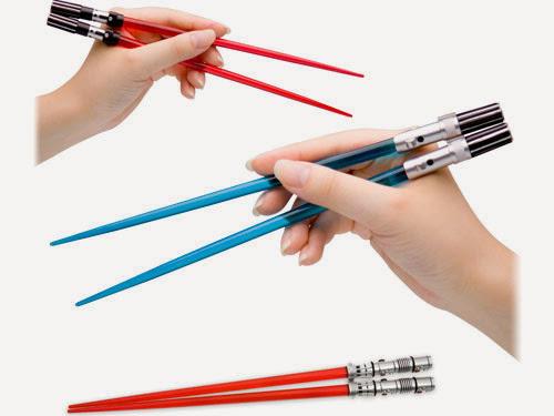 Light saber chopsticks