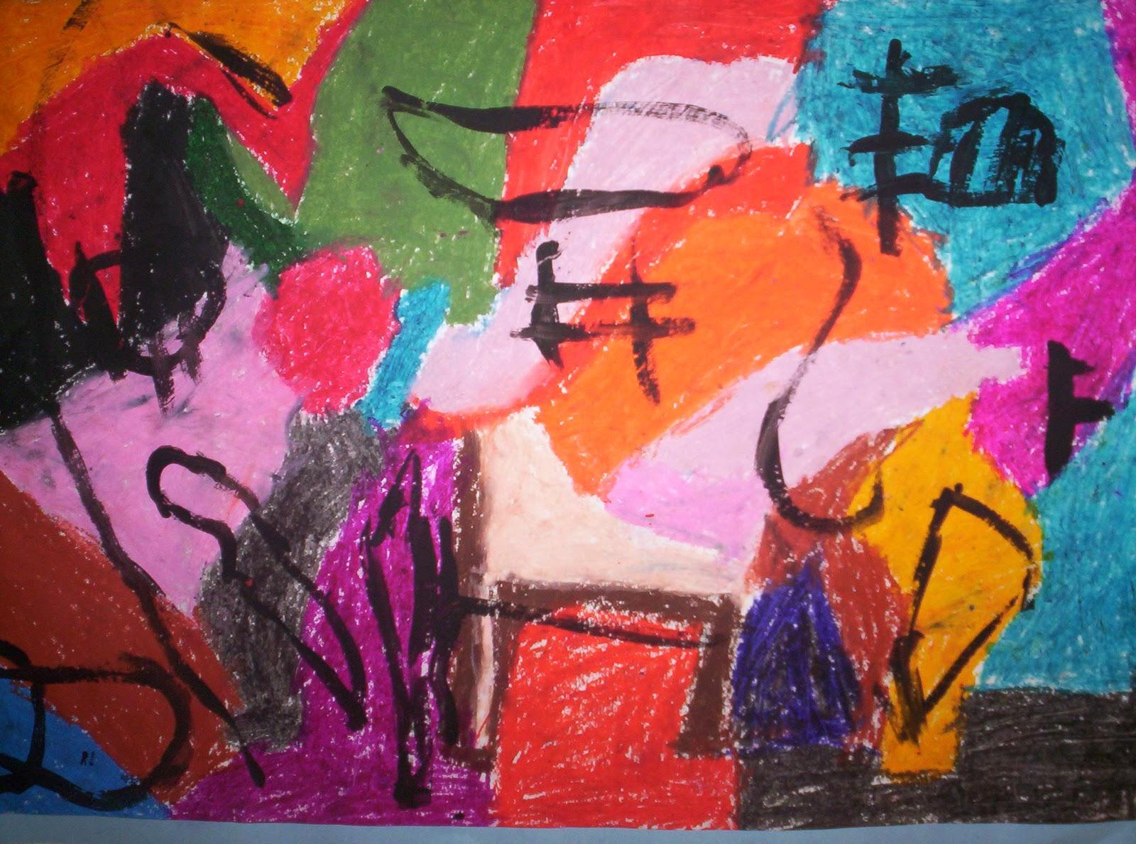 Elementary Scribbles Kandinsky Kandinsky Kandinsky