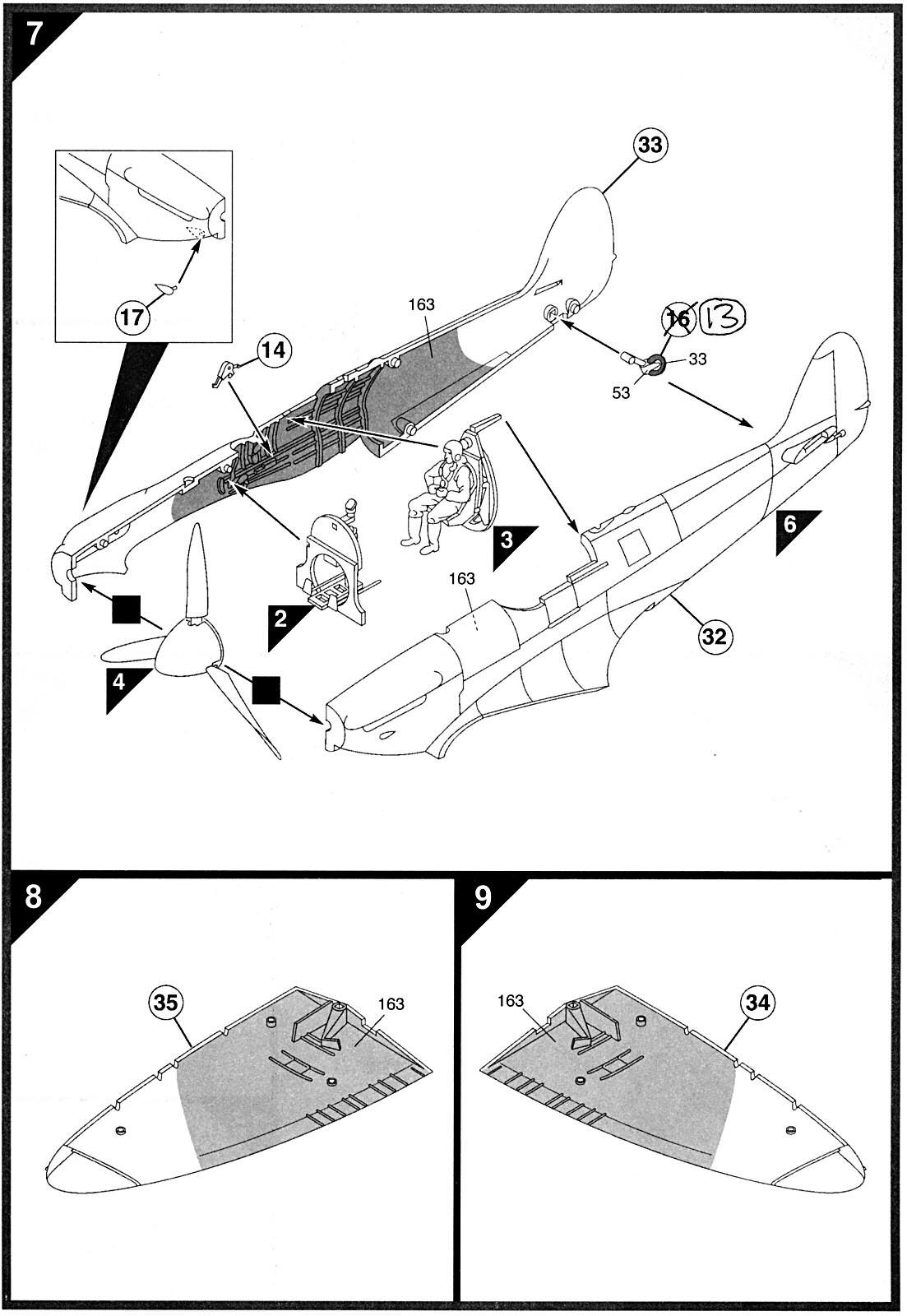 Airfix 1 48 Supermarine Spitfire Mk A