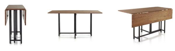Mesa plegable para comedor