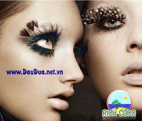 Dưỡng lông mi và dài mi mắt hiệu quả an toàn bằng tinh dầu dừa