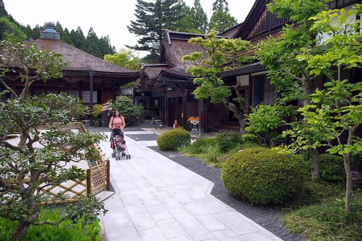 Templo Yochi-in en Koyasan