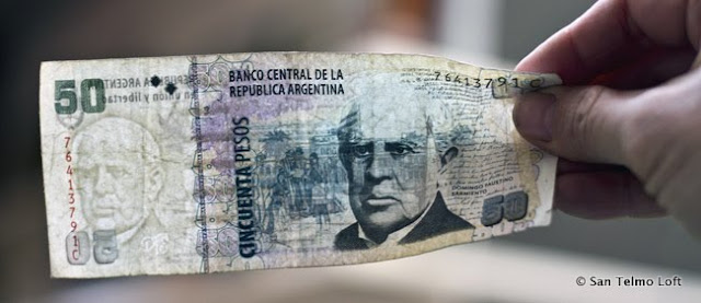 Real 50 Argentine Peso Note