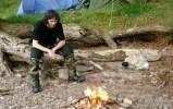 Camp on Loch Ness