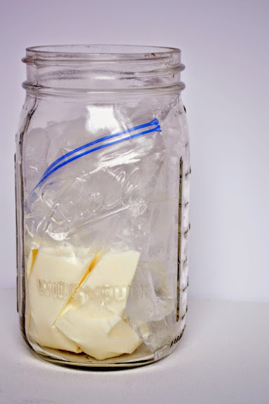 Homemade ice Cream in a Jar from OurThriftyIdeas.com