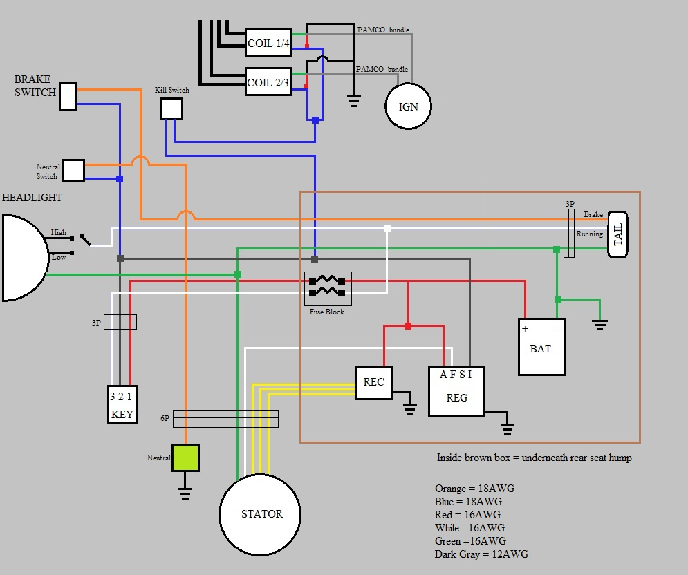 2009 R6 Wiring Diagram Diagrams Yamaha Rectifier: 2009 Yamaha R6 Wiring Diagram At Satuska.co