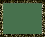 Gold Celtic Frame - Titles2 (RMVXA)