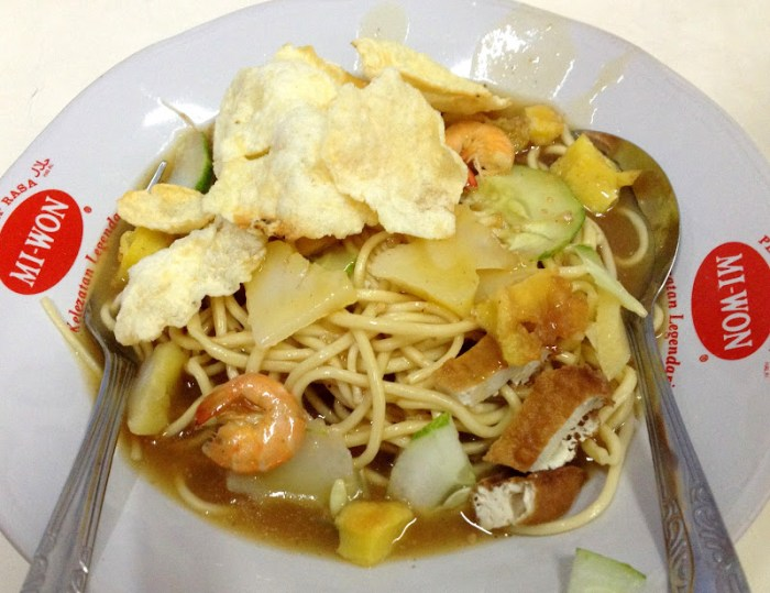 Belitung Noodle from Mie Atep