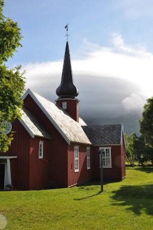 l'église de Flakstad