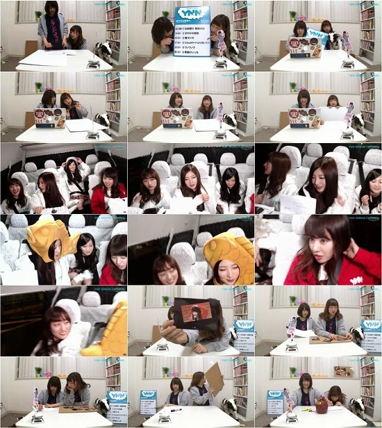 (TV-Variety)(720p) YNN [NMB48チャンネル] 夜中の山田菜々「つなぎYNN」 150503