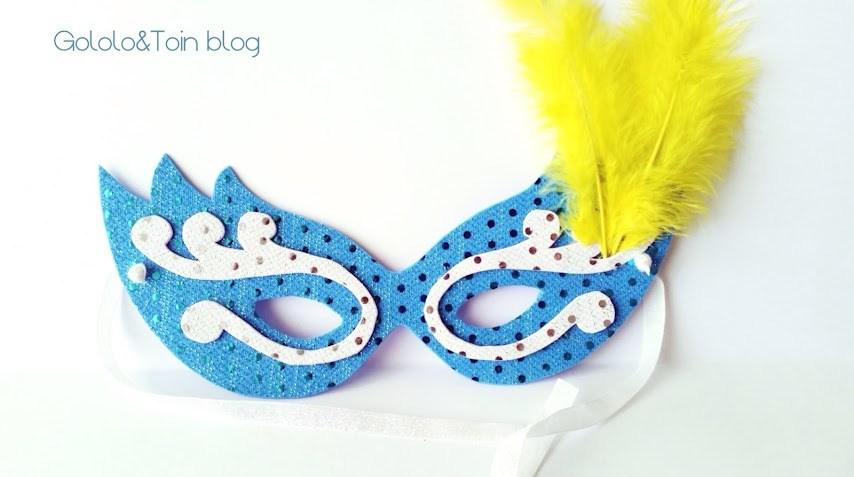 máscara veneciana para carnaval