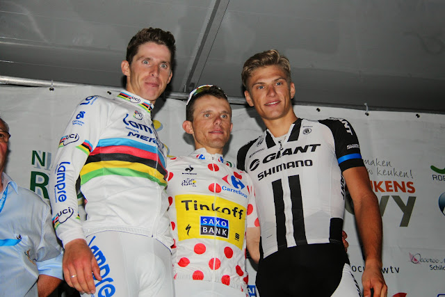 podium 5e Dovy Natourcriterium