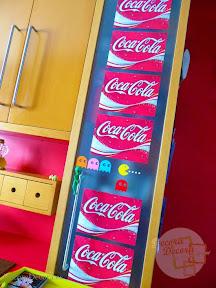 Decoración con Coca Cola.