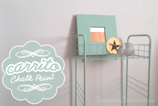 Carrito chalk paint