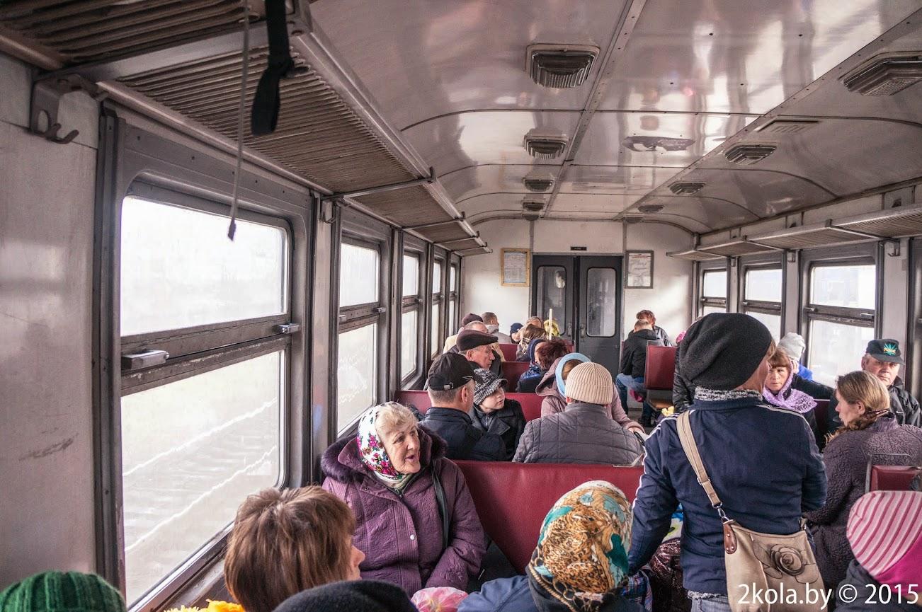 Вагон дизельного поезда Ковель-Львов